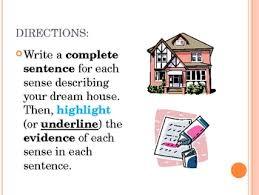 imagery powerpoint dream house descriptive writing by monica lukins imagery powerpoint dream house descriptive writing