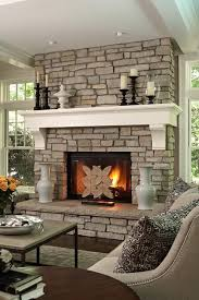 Stone Fireplaces With Wood Mantels Interior Designing Best 25 Stone  Fireplace Mantles Ideas On Pinterest Stone