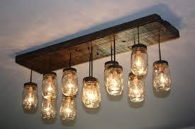 lighting jelly jar light fixture cover plastic jam fixtures glass bell westinghouse led mason chandelier