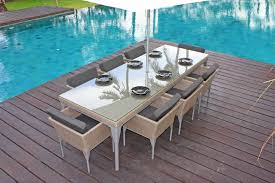 8 seat dining table. Brafta 8 Seat Dining Table