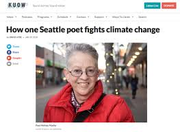 """Melinda Mueller on KUOW with """"The After"""" — Entre Rios Books"""