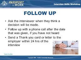 Interview Skills Workshop Ppt Video Online Download