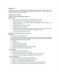 coach resume example examples of resumes - Sports Resume Sample