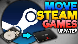 how to move steam games to another hard drive or ssd updated 2017 windows 7 8 10