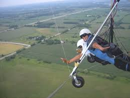 life experiences southern ontario high perspective inc tandem hang gliding flight