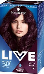 087 Mystic Violet Hair Dye By Live