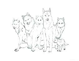 Wolf Coloring Pages To Print Big Bad Wolf Coloring Page Free Pages