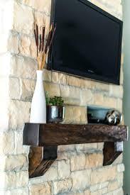 White Austin Stone Fireplace Ideas Veneer