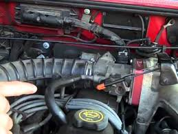 check a c vacuum leaks on ford ranger (a c only blows through 2001 Ford Explorer Sport Trac Vacuum Diagram check a c vacuum leaks on ford ranger (a c only blows through defrost) youtube Ford Sport Trac Parts Diagram
