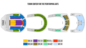 The Tobin Center Seating Chart Ticketingbox Shen Yun 2020 San Antonio Shen Yun Tickets
