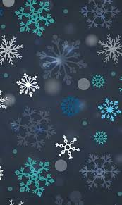 Snowflake Winter IPhone Background