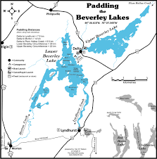 Calabogie Lake Depth Chart Old Stone Mill Paddling The Beverley Lakes