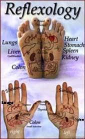 Foot Reflexology Charts Reflexology Foot Chart Tips