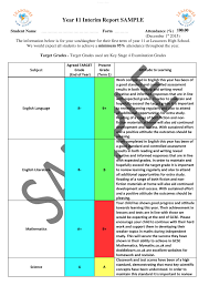 leasowes high school sample full school report