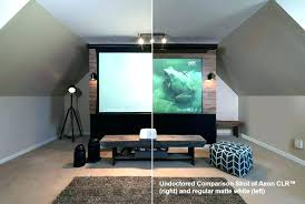 cool painting wall for projector screen ideas home theater news elite screens paint a color id cool painting wall for projector screen