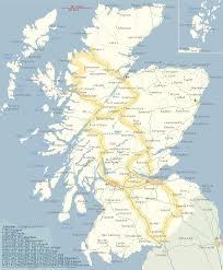 map of scotland printable. Beautiful Scotland Map Of Scotland With Touring Routes And Of Scotland Printable A