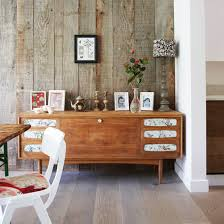 modern dining room storage.  Modern Rustic Dining Room With Wallpapered Sideboard And White Wooden Chair Throughout Modern Dining Room Storage O