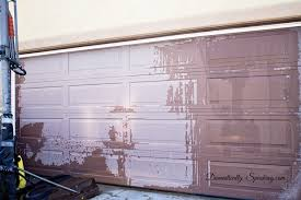 create a faux wood garage door with gel stain less than 20