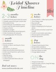 Southbound Guide How To Plan The Perfect Bridal Shower
