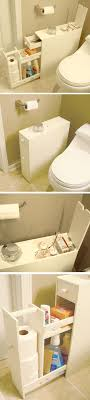 bathroom space savers bathtub storage: bathroom space saver floor cabinet stores up to  rolls of toilet paper and