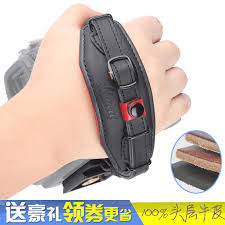 get ations force shadow good leather wrist strap with cable nikon canon pentax slr wrist strap with