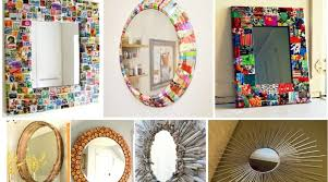 Diy mirror frame ideas Creative Diy Diy Mirror Frame Architectures Ideas Diy Mirror Frame Source Of Modern Interior Design Ideas