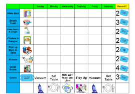 Make You A Custom Chore And Behavior Chart For Your Child