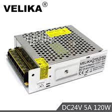 Chất Lượng Tốt Nhất 24V 5A 120W Công Tắc Nguồn Điện Lái Xe AC DC Tiếp Tế  Cho Dải Đèn LED MODULE Chiếu Sáng camera Quan Sát 3D Máy In Xe Máy