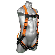 Fall Protection Harness Size Chart Warthog Tongue And Buckle Harness