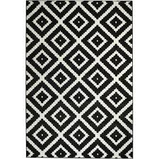 mesmerizing black and white area rugs of zipcode design cheney indoor rug reviews wayfair