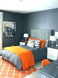 gray and orange bedding grey and orange bedding gray best bedroom ideas on blue comforter