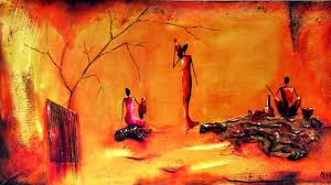 Abstract Oil Painting Art Design Hand Painted Hd Wallpapers