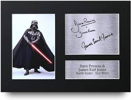 HWC Trading Dave Prowse & James Earl Jones Signed A4 Printed Autograph Star  Wars Darth Vader Print Photo Picture Display: Amazon.co.uk: Kitchen & Home