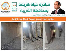 مبادرة حياة كريمة... - مبادرة حياة كريمة بمحافظة الغربية