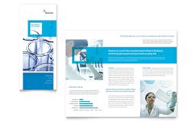 Trifold Template For Word Science Chemistry Tri Fold Brochure Template Word Publisher