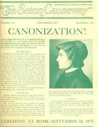 「She was canonized in September 1975.」の画像検索結果