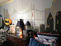 Batman Bedroom Ideas Using Wall Picture And Batman Logo For Bedroom  Decoration Ideas