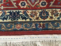persian rug fringe repair