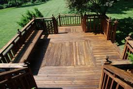 Wood Patio Designs Swimming Pool Modern Deck Designs For Luxury Backyard Ideas
