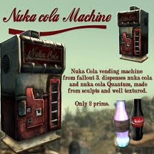 Nuka Cola Vending Machine Beauteous Second Life Marketplace Fallout 48 Nuka Cola Machine