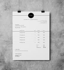 Resume Templates Invoice Designs Template Design Receipt Creative