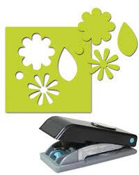 Paper Punches Flower Ek Success Paper Shapers Slim Profile Large Punch Flowers