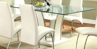 full size of white glass dining table top high gloss set and chairs dine in fine