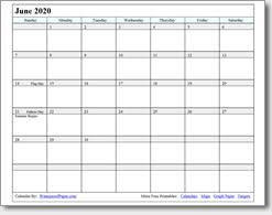 June 2019 Printable Calendar Print As Many As You Want
