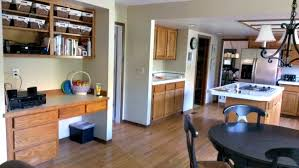 desk in kitchen. Interesting Kitchen Kitchen Desks Tips For What To Do With Them Intended Desk In