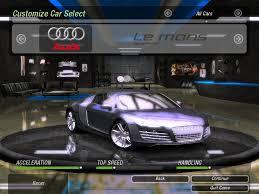 Nfs Underground 2 Mods Audi Lemans Quattro 5 2 Fsi