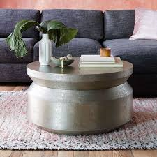 brilliant hammered metal coffee table with hammered metal accordion coffee table west elm