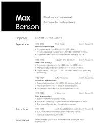 Resume Templates Open Office Stunning Resume Template Open Office Commily