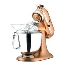 kitchenaid copper bowl copper mixer satin copper custom metallic series 5 quart stand mixer mixer copper