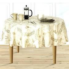72 inch round vinyl tablecloth round vinyl tablecloth boxed fern flannel backed vinyl tablecloth indoor outdoor